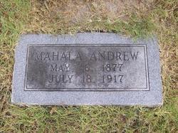 Mahala Mahaley <i>Brownwell</i> Andrew