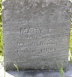 Mary E. <i>Bean</i> Bean