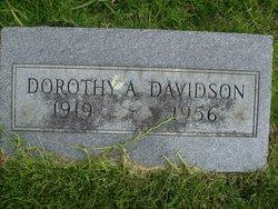 Dorothy A. Davidson