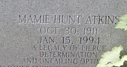 Mamie <i>Hunt</i> Atkins