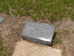 Theora <i>McGauley</i> Green