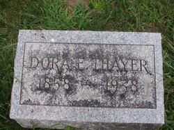 Dora E. <i>Pratt</i> Thayer