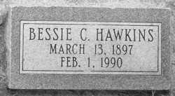 Bessie Myrtle <i>Campbell</i> Hawkins