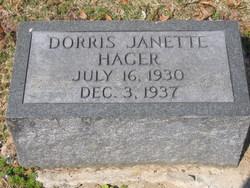 Dorris Janette Hager