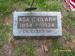 Asa C Clark