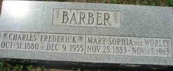 Charles Frederick Barber
