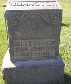 Belle G <i>King</i> Johnston
