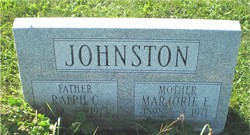 Marjorie E Johnston