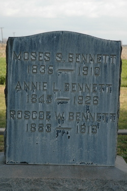 Annie Louise <i>Peters</i> Bennett