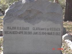 Maj R B Baer