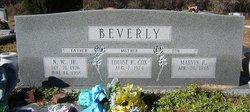 Newton William Beverly, Jr