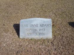 Elsie Jane <i>Fordham</i> Adams