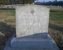 Katherine <i>Berg</i> Becker