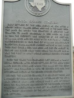 Denson Springs Cemetery