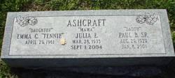 Paul B. Ashcraft, Sr