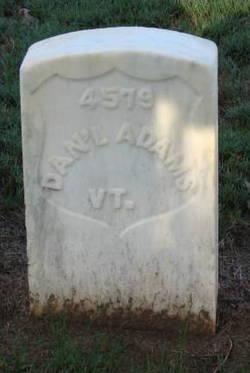 Pvt Daniel Adams