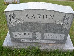 Carrie O <i>Menser</i> Aaron