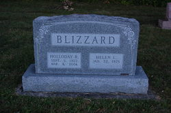 Holloday R. Blizzard
