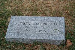 Joe Ben Champion, Jr