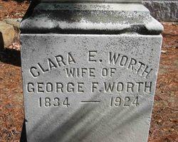 Clara E <i>Abbott</i> Worth