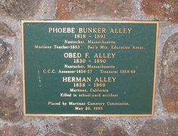 Phoebe Ray <i>Bunker</i> Alley