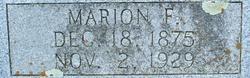 Marion F. Adams