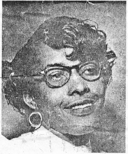 Mrs Ratha aunt Ratha <i>Robinson</i> Williams