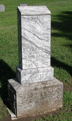 Elizabeth Katharina <i>Shaw</i> Arnold