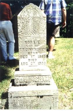 Nora Elise <i>Cunningham</i> Cunningham