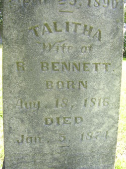 Talitha <i>Laycock</i> Bennett