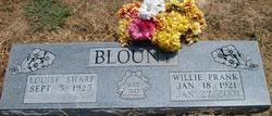 Willie Frank Blount