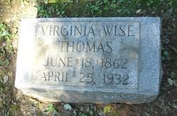 Virginia Wise <i>Hodgkin</i> Thomas