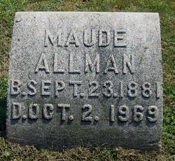 Maude <i>Bennett</i> Allman