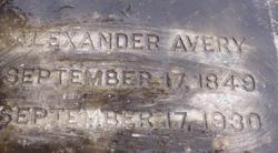 Alexander Avery