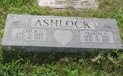 Frances <i>Victor</i> Ashlock