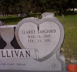 Clarice Langford Sullivan