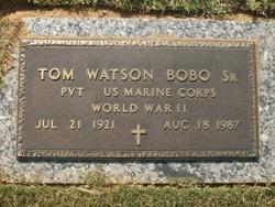 Thomas Tom Watson Bobo, Sr