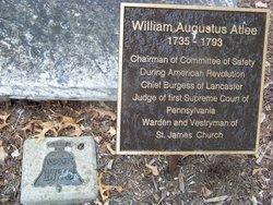 William Augustus Atlee (1735 - 1793) - Find A Grave Memorial