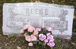 Gertrude Margaret Gert <i>Neidert</i> Reese