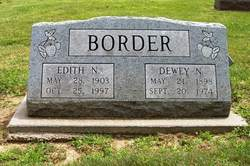 Edith Norris <i>May</i> Border