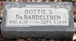 Gladys Rae Dottie <i>Shuler</i> DeBardeleben