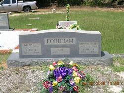 Mary Francess <i>Lott</i> Fordham