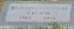 Margaret Elizabeth <i>White</i> Grimm