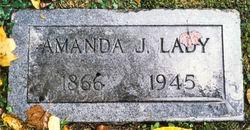 Amanda Jane <i>Mitchell</i> Lady