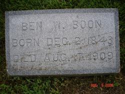 Benjamin Watts Ben Boone