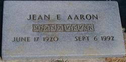 Jean E Aaron