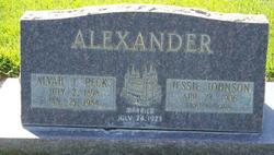 Alvah J Peck Alexander