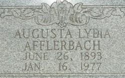 Augusta Lydia Gussie Afflerbach