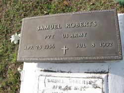 Pvt Samuel Roberts