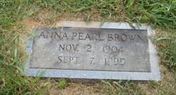 Anna Pearl <i>Craig</i> Brown